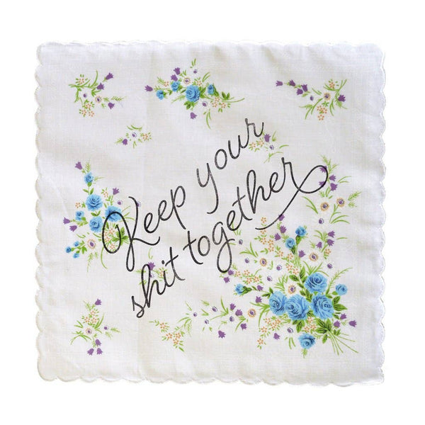 Keep Your Shit Together Handkerchief - color may vary