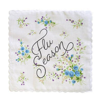 Flu Season Handkerchief - color may vary