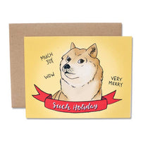 Doge - Such Holiday Card - Set of 6 Cards