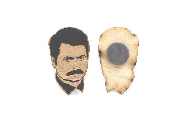 Parks and Recreation - Ron Swanson Magnet