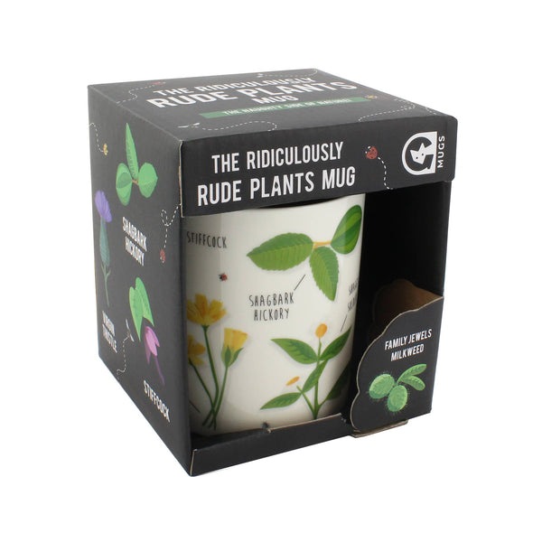 The Ridiculously Rude Plants Mug