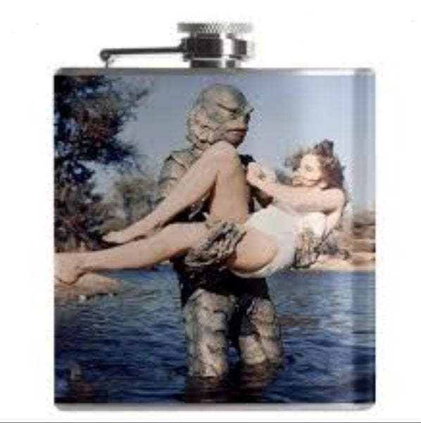 Creature from the Black Lagoon Flask