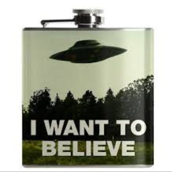 I Want To Believe Flask
