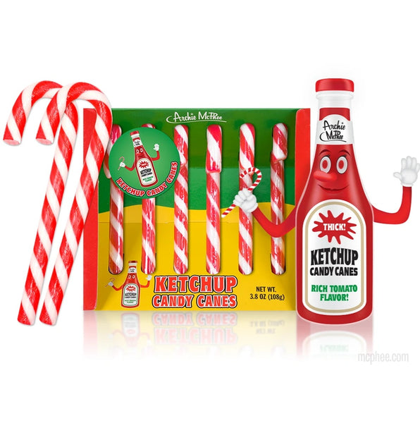 Ketchup Candy Canes