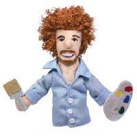 Bob Ross - Finger Puppet and magnet