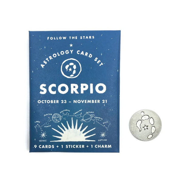 Scorpio Astrology Card Pack