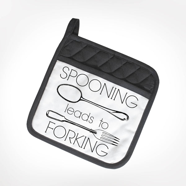 Spooning Leads To Forking Potholder