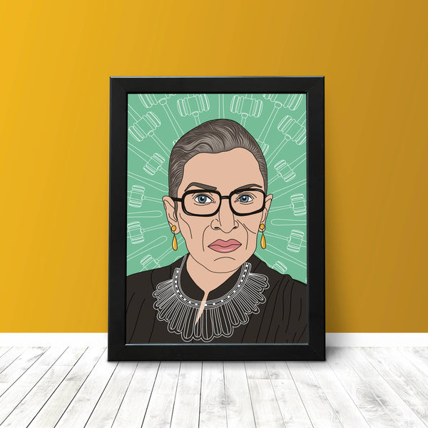 The NOTORIOUS RBG PRINT - Unframed