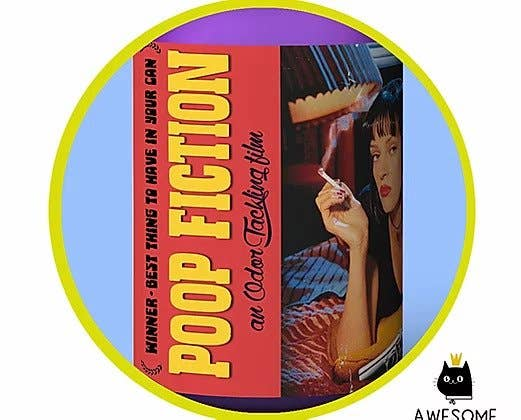 Poop Fiction Poo Spray - Toilet Spray