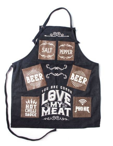 Canvas Apron - You Are Going To Love My Meat