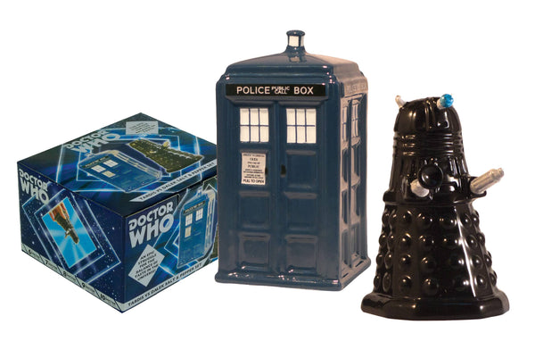 Dr Who - Tardis & Dalek Salt & Pepper