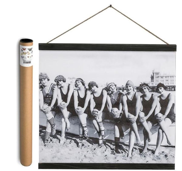 Bathing Beauties - Canvas Banner