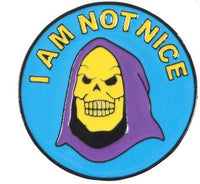 I Am Not Nice Pin