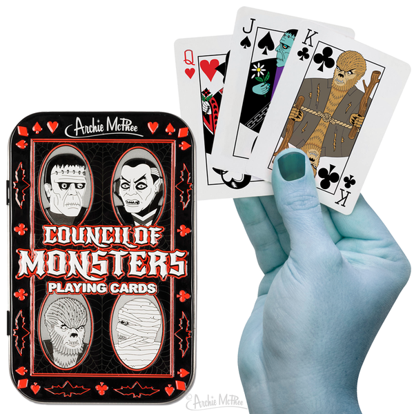 Monster Playing Cards