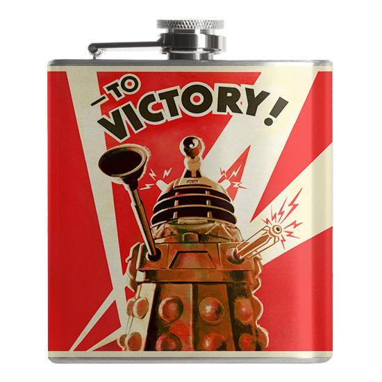 Doctor Who Dalek Flask