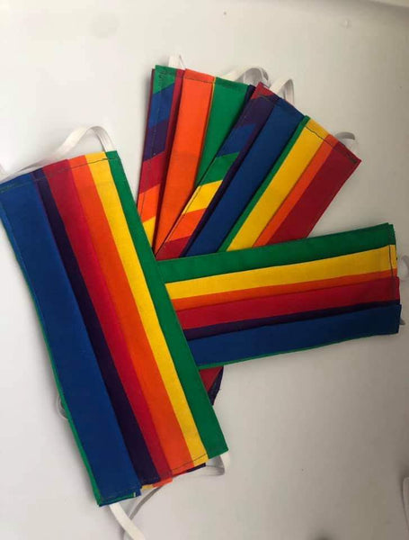 Pride Flag masks