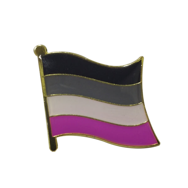 Asexual Pride Flag Pin