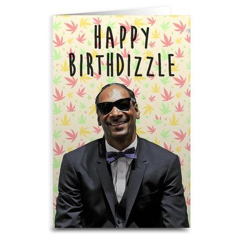 Snoop Dogg - Happy Birthdizzle Card - 8.5 x 5.5