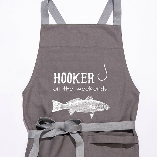Hooker On The Weekend - Apron