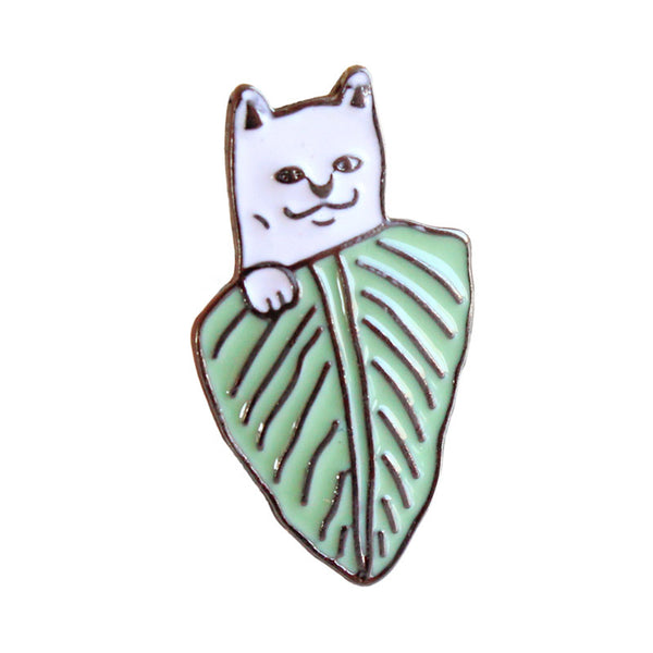 Peek A Boo Cat Pin