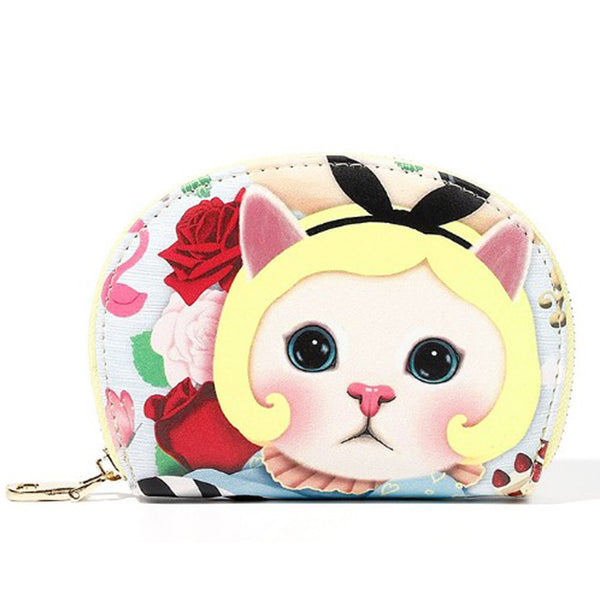 Fancy Cat Change Purse -Alice
