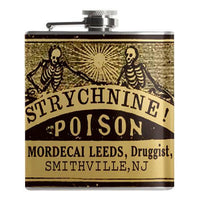 Strychnine poison Flask