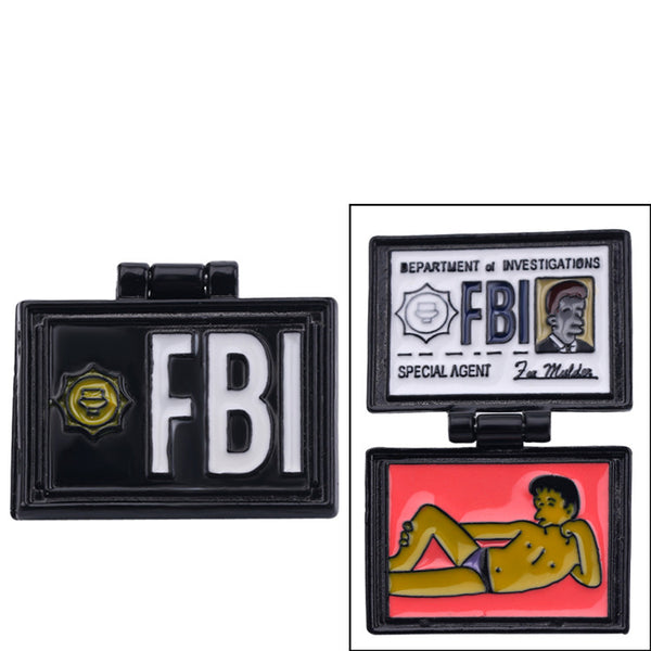 Simpsons FBI Badge