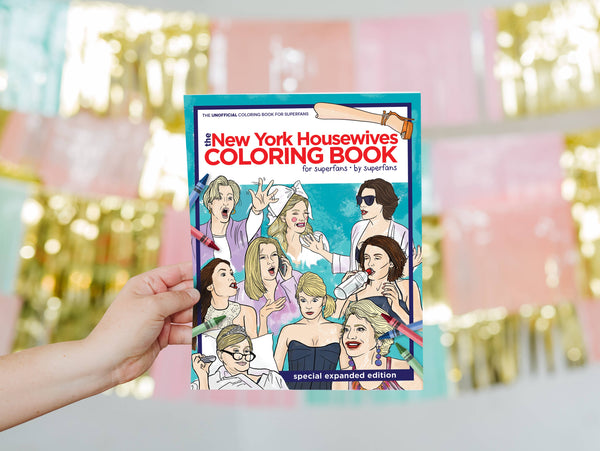 New York Housewives -  RHONY Coloring Book