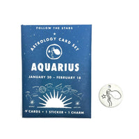 Aquarius Astrology Card Pack