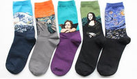 Art Socks! Set of 5 pairs