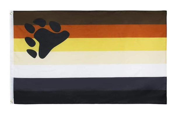 Bear Pride Flag - 3'x5'
