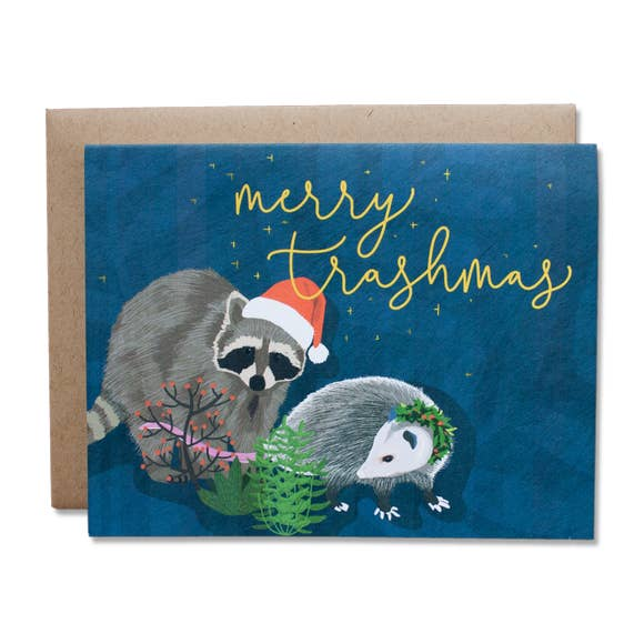 Merry Trashmas!  Greeting Card