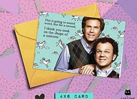 Stepbrothers -  The Shape of a Unicorn Card