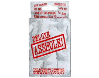 Drinking Card Game - Deluxe Asshole!