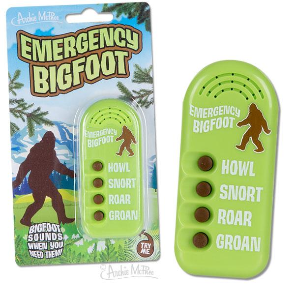 Emergency Bigfoot Button