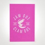 Jam Out With Your Clam Out - Hang Tight Towel