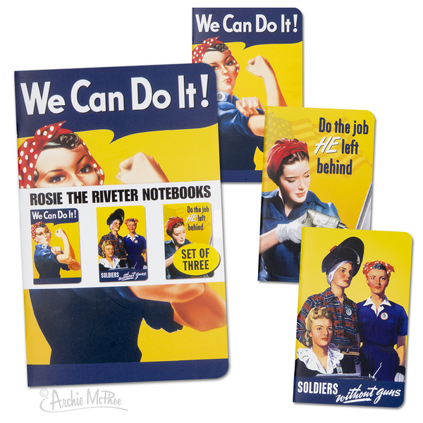 Rosie The Riveter Pocket Notebook Set