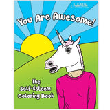You Are Awesome!  The Self Esteem Coloring Book
