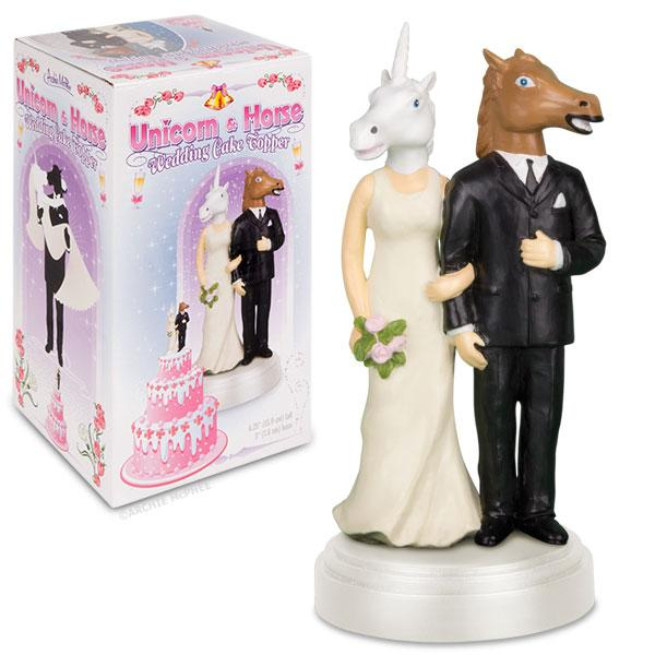 Unicorn and Horse Cake Topper