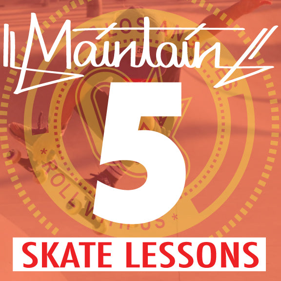 5 Skate Lessons  Ages 3-6yrs.