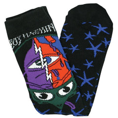 TM Turtle Head Crew Sock-Black 1 Pair
