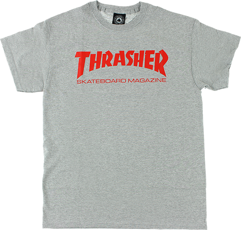 Thrasher Heather Grey T