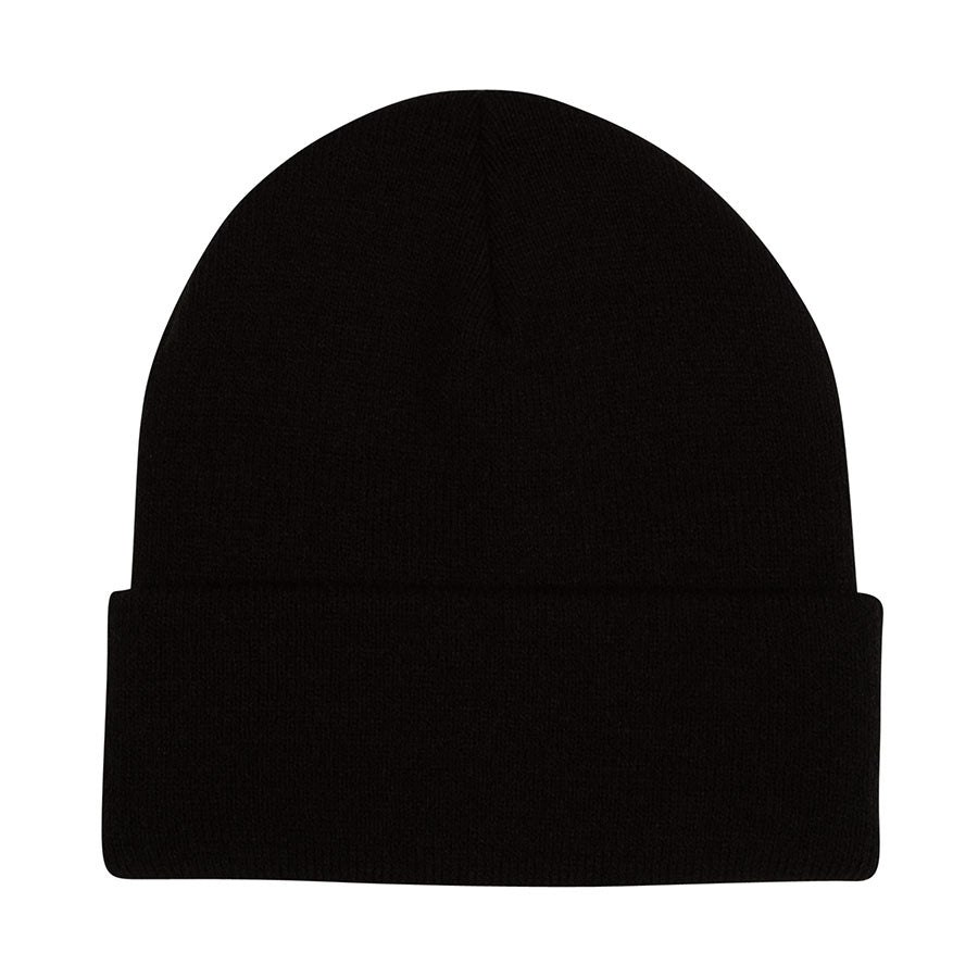 Logo Outline Beanie Long Shoreman Hat Black OS Mens Creature