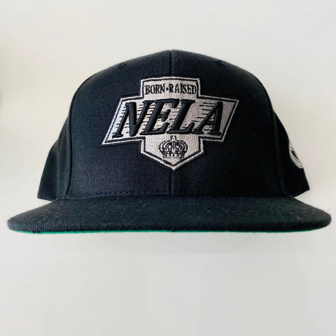 Copy of NELA KINGS Snapback    Grey/black