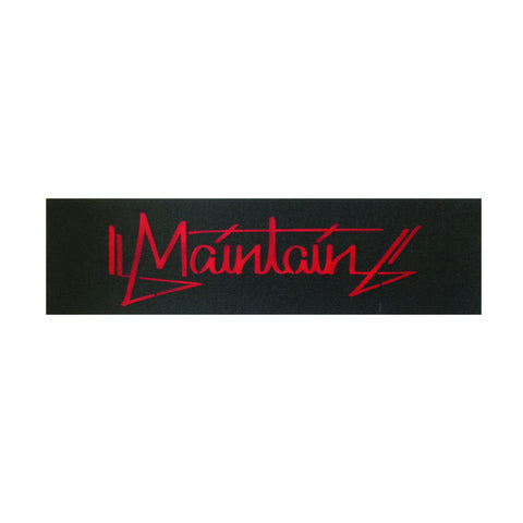 Maintain Red Hand Tag Grip Tape