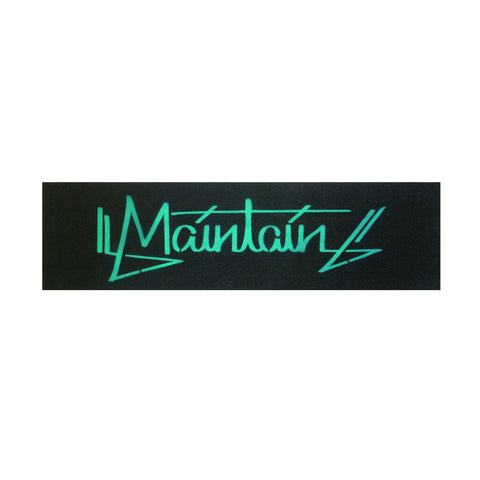 Maintain Teal Hand Tag Grip Tape