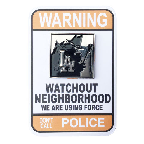 LA. Neighborhood Watch Pin