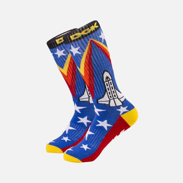 DGK Flyin Crew Sock Pair royal - OS