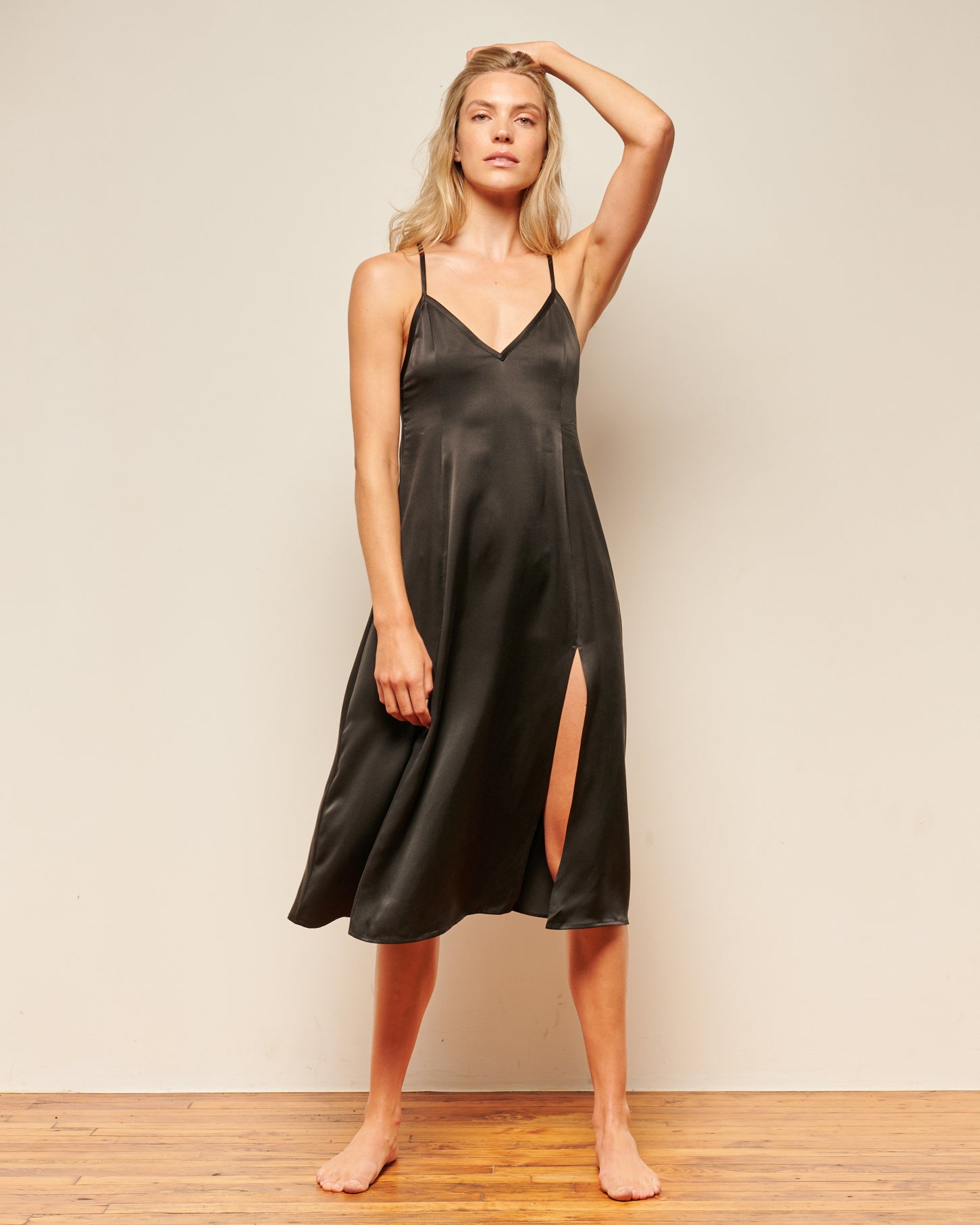 Chateau Nightgown Black