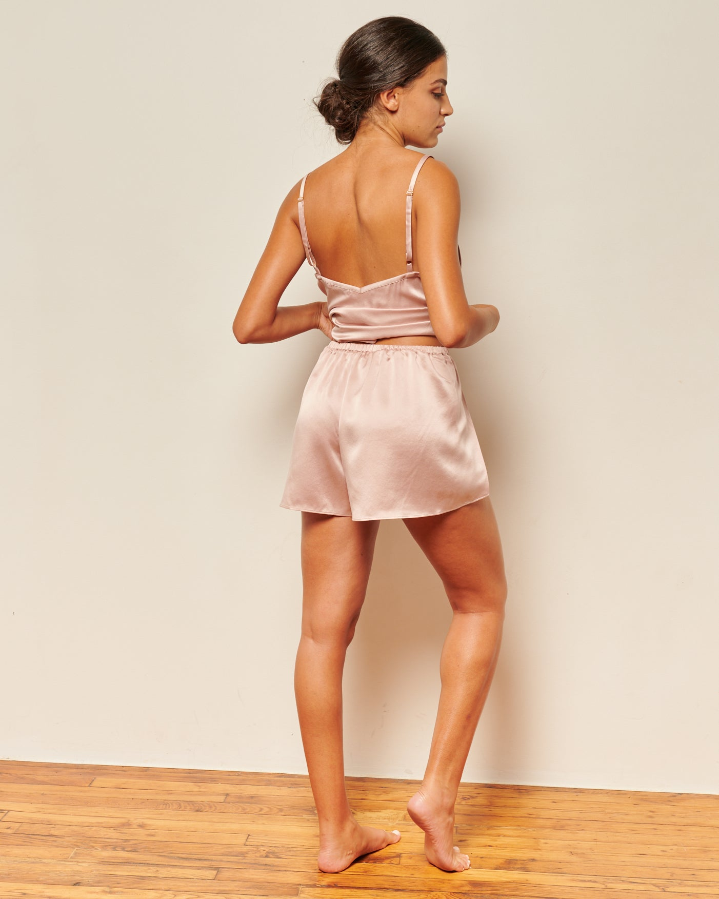 Colette Shorts Dusty Rose